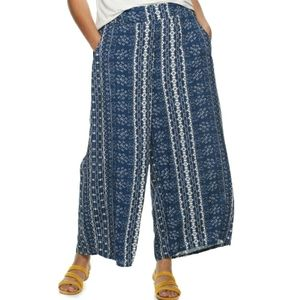American Rag blue and white pants